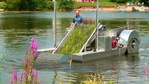 Lake Weed Harvester That pulls